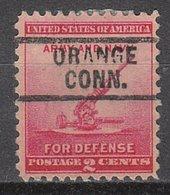 USA Precancel Vorausentwertung Preo, Locals Connecticut, Orange 729 - Vereinigte Staaten