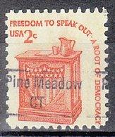 USA Precancel Vorausentwertung Preo, Locals Connecticut, Pine Meadow 843 - Vereinigte Staaten