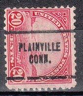 USA Precancel Vorausentwertung Preo, Locals Connecticut, Plainville  698-704 - Vereinigte Staaten