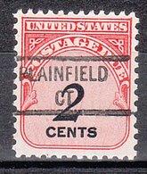 USA Precancel Vorausentwertung Preo, Locals Connecticut, Plainville  841 - Vereinigte Staaten