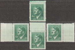3/ Bohemia & Moravia; ** Nr. 122; Border Stamps - Bohême & Moravie