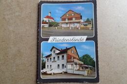 BUCHLOE - LINDENBERG - Gasthaus Friedenslinde - Restaurant, Voiture Cars Autos ( Allemagne ) - Buchloe