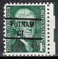 USA Precancel Vorausentwertung Preo, Locals Connecticut, Putnam 841 - Vereinigte Staaten