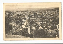 SLOVENIJA SLOVENIA LUBIANA LJUBLJANA PUTOVALA 1945. GODINE - Slovenia