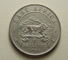 East Africa 1 Shilling 1924 Silver - Colonie Britannique