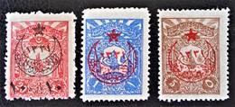 SURCHARGES 1916 - TIMBRES-POSTE DE 1905 - NEUFS * - YT 311/13 - RARES ! - 1858-1921 Empire Ottoman