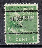 USA Precancel Vorausentwertung Preo, Locals Connecticut, Ridgefield 713 - Vereinigte Staaten