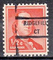 USA Precancel Vorausentwertung Preo, Locals Connecticut, Ridgefield 846 - Vereinigte Staaten