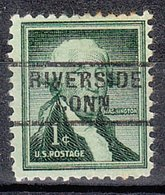 USA Precancel Vorausentwertung Preo, Locals Connecticut, Riverside 729 - Vereinigte Staaten