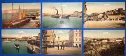 Fiume 6 Cartoline A Colori VF/F - Croatia
