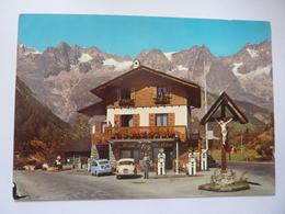 "Cartolina ""COURMAYEUR  - S.A.C.L.A.T.  Chalet, Bar, Auto Grill"" - Italia"