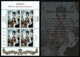 Jersey 2002 - Mi-Nr. 1017 ** - MNH - KLB. - Thronbesteigung - Jersey