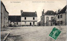 51 - CHATILLON Sur MARNE -- Place Du Royer - Châtillon-sur-Marne