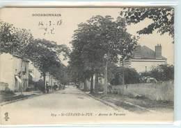 CPA 03 Allier St Saint Gérand Le Puy Avenue De Varennes Bourbonnais - France