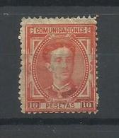 ESPAÑA  EDIFIL 182 - 1875-1882 Kingdom: Alphonse XII