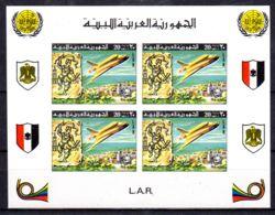 17.5.1977; 100 Jahre Weltpostverein, UPU, Mi-Nr. Block 26 B, Postfrisch, Los 51012 - Libye