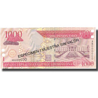 Billet, Dominican Republic, 1000 Pesos Oro, 2002, 2002, Specimen, KM:173s1, NEUF - Dominicaine