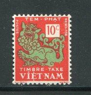 VIET-NAM- Taxe Y&T N°1- Neuf Sans Charnière ** - Viêt-Nam