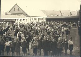 Photo Baasrode Enfants Dans La Cour De Récréation Ecole    16,5 X 12 Cm - Dendermonde