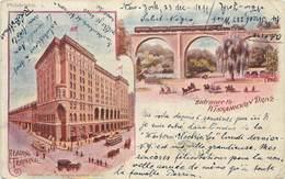 PHILADELPHIA - Entrance To Wissahickon Drive, Carte 1900. (carte Vendue En L'état). - Philadelphia