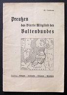German Book / Preußen Das Vierte Mitglied Des Baltenbundes 1935 - Revues & Journaux