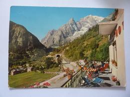 "Cartolina ""Valle D'Aosta COURMAYEUR All'imbocco Del Traforo"" - Italia"
