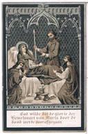 Dp. Bellemans Amelia. Wed. Van Eesbeke Romanus. ° Goyck 1811 † Meerbeke 1890  (2 Scan's) - Religion &  Esoterik