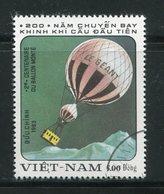 VIET-NAM- Y&T N°399- Oblitéré (montgolfières) - Viêt-Nam