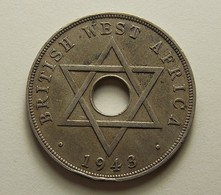 British West Africa 1 Penny 1943 - Monnaies