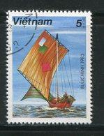VIET-NAM- Y&T N°385- Oblitéré (bateau) - Viêt-Nam