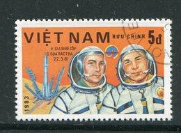 VIET-NAM- Y&T N°418- Oblitéré (espace) - Viêt-Nam