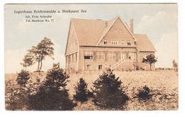 AK Logierhaus Reichenwalde A. Storkower See, Ungel. - Allemagne