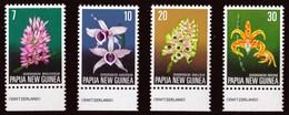 PAPUA & NUOVA GUINEA 1974 ORCHIDEE - Papua Nuova Guinea