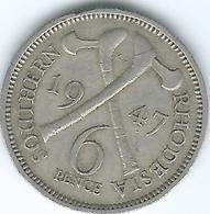 Southern Rhodesia - George VI - 1947 - 6 Pence - KM17b - Rhodesien