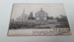 *KRUISWEG  Zicht Op De  Kerk En Pastorij Animée  Oblitérée En 1903 - Lille