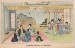 """JAPON """"Geisha's"""" Dancings At Yoshiwara - Non Classés"""