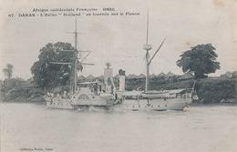 DAKAR - N° 67 - L'AVISO GOELAND EN TOURNEE SUR LE FLEUVE - Senegal