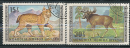 N° Yv 515,517 - Animaux - Mongolie