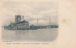DAKAR - N° 113 - CONSTRUCTION DU PORT MILITAIRE - UNE DRAGUE - Sénégal
