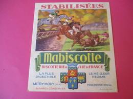 Buvard/Biscotte/Stabilisées/MABISCOTTE/Hippisme/Biscotterie Ile De France/MITRY-MORY (S&M)/Sirven/Vers 1940-1960  BUV434 - Zwieback