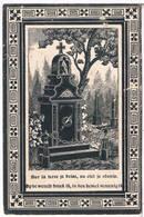 Dp. D'Haese Petrus. Wed. De Vos Bernardina. ° Wichelen 1819 † Aelst 1903 (2 Scan's) - Religion & Esotérisme