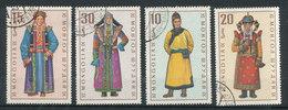 N° Yv 478/ 481  - Costumes Régionnaux - Mongolie