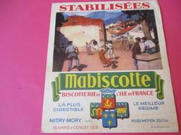 Buvard//Stabilisées/MABISCOTTE/Pelote Basque /Biscotterie Ile De France/MITRY-MORY (S&M)/Sirven/Vers 1940-1960  BUV435 - Zwieback