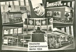 AK Deutsche Gastwirtschaftsmesse Berlin 1966 Mit Marke Bund 516 - Hotels & Gaststätten