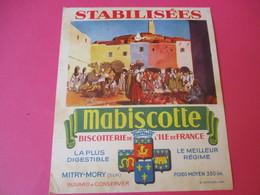 Buvard//Stabilisées/MABISCOTTE/Marché Algérien/Biscotterie Ile De France/MITRY-MORY (S&M)/Sirven/Vers 1940-1960  BUV437 - Zwieback