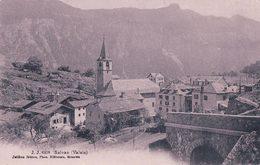 Salvan VS, Cachet Linéaire VERNAYAZ (22.8.1909) - VS Wallis