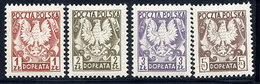 POLAND 1980 Postage Due: Arms MNH / **.  Michel Porto 165-68 - Impuestos