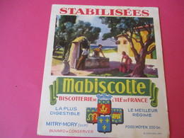Buvard//Stabilisées/MABISCOTTE/Fontaine Provencale/Biscotterie Ile De France/MITRY-MORY(S&M)/Sirven/Vers 1940-60  BUV439 - Zwieback
