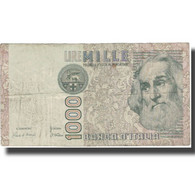 Billet, Italie, 1000 Lire, Undated (1982), KM:109a, TB - 1000 Lire