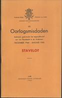 Livret 59 Pages Oorlogsmisdaden December 1944 - Januari 1945 Stavelot Par G Thone - Guerre 1939-45